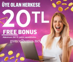 Bedava Bonus Veren Siteler